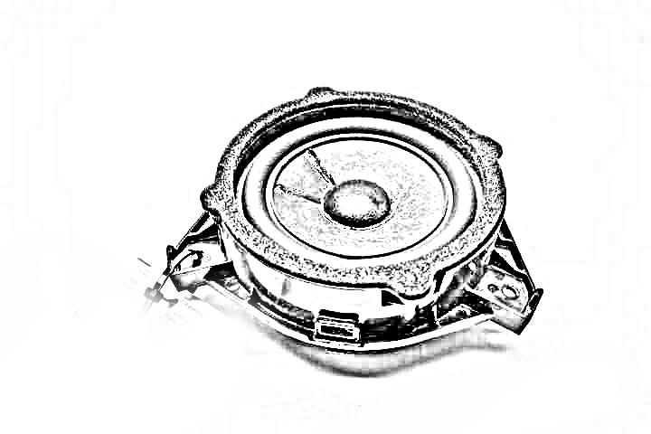 2005 Lexus Is 300 Speakers  SUB WOOFER 86150-53010
