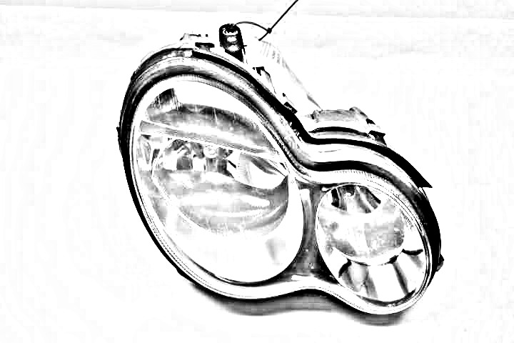 PASSENGER SIDE HALOGEN HEADLAMP