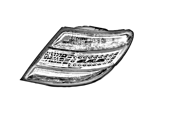 DRIVER REAR BUMPER BACKUP LAMP