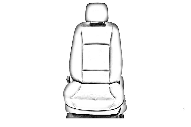 TAN DRIVER FRONT LEATHER SEAT