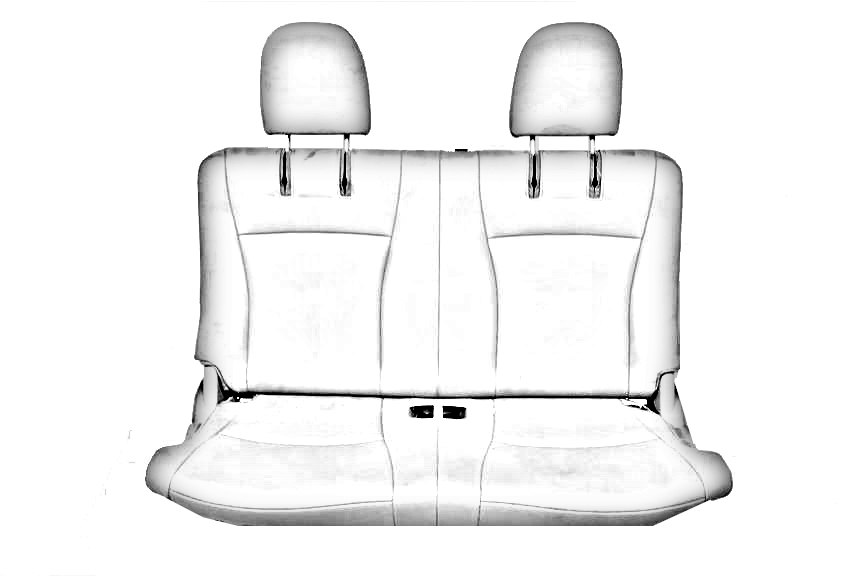 TAN PASSENGER 3RD ROW CLOTH SEAT