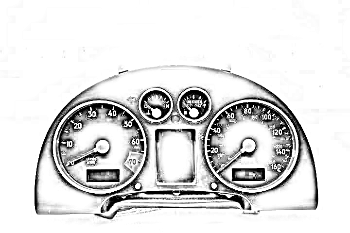TACHOMETER (SINGLE INSTRUMENT), US