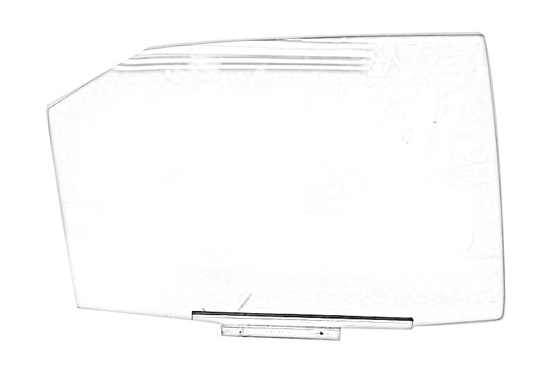 2015 Acura TLX Door Glass, Rear. DRIVER REAR DOOR GLASS