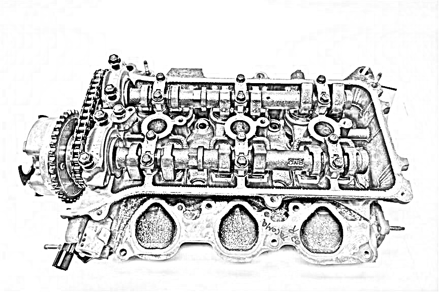 2007 Subaru IMPREZA Cylinder Head. DRIVER CYLINDER HEAD 11063AB310