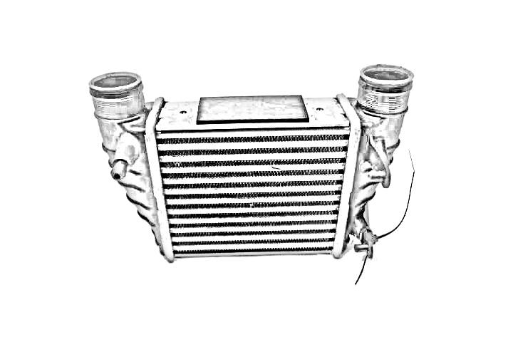 2017 Audi Q3 Intercooler. INTERCOOLER