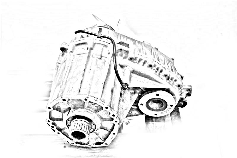 2011 BMW X6 Transfer Case Assy. EXC. HYBRID, 8 CYLINDER