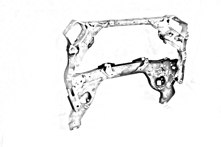 2013 Mazda MIATA Sub Frame. REAR CROSSMEMBER K-FRAME NE5128800B