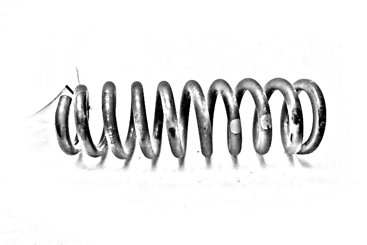 2008 JEEP COMMANDER Coil spring. REAR COIL SPRING 52124209AA