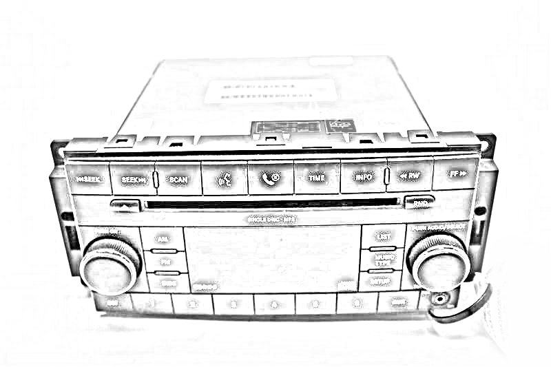 2004 Land Rover DISCOVERY Radio Audio / Amp. AMPLIFIER XQK100210