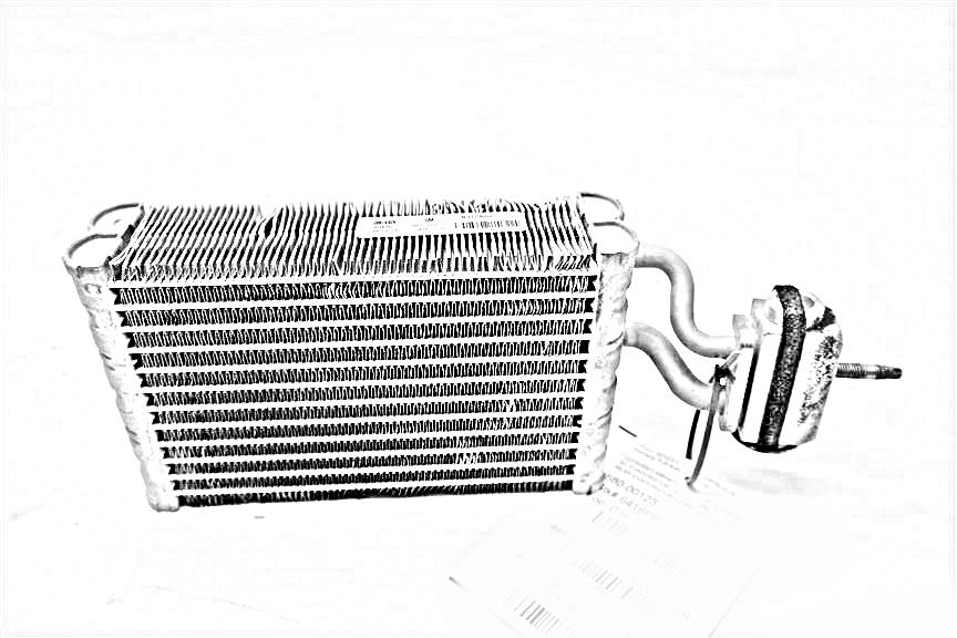 2011 Land Rover LR4 AC Evaporator. REAR AC EVAPORATOR HOUSING