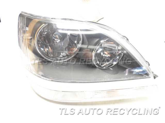 2002 Lexus Rx 300 Headlamp Assembly TOP TAB BROKEN AFM PASSENGER HEADLAMP ASSEMBLY