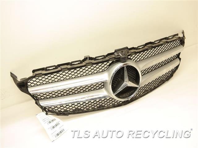 Genuine For Mercedes 20588809609040 Black Grille Beam