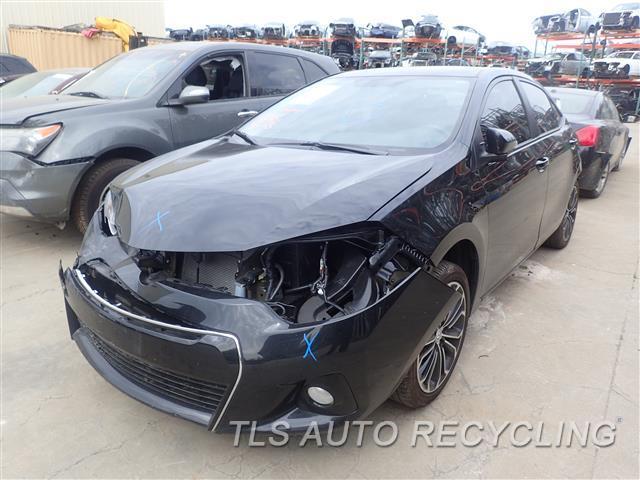 2016 Toyota Corolla Parts Stock# 7104GR