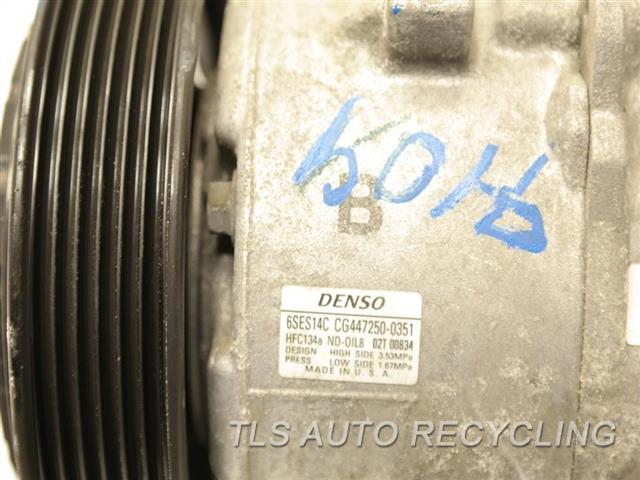 Genuine OEM Toyota Corolla recycled Auto parts - 2016 ac compressor online   TLS Auto Recycling