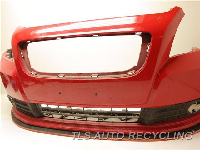 2009 Volvo S40 Bumper Cover Rear Driver Rear Outer Edge Has Scuff