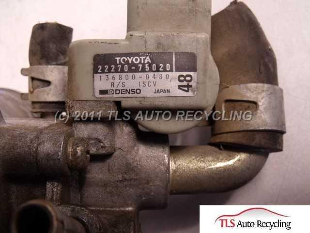 2002 Toyota Tacoma throttle body assy - 22210-75240