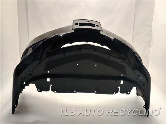 2017 Acura Ilx Bumper Cover Front L&R FAR CORNER TABS HAVE SMALL CRACKS 000,BLK,(2.4L), W/O FOG LAMPS