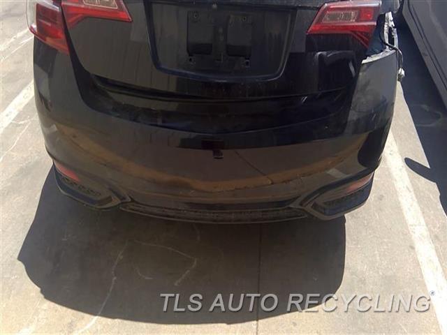 2017 Acura Ilx Bumper Cover Rear    000,BLK,(2.4L), W/O PARK ASSIST