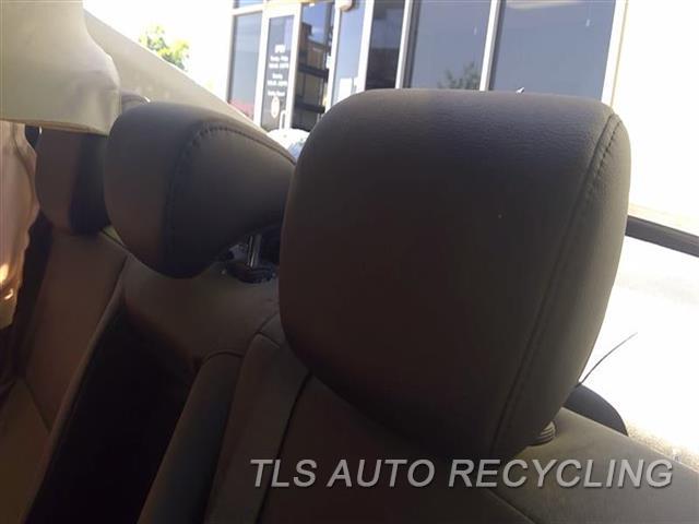 2017 Acura Ilx Headrest  BLK,LEA,REAR,OUTER