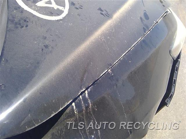 2017 Acura Ilx Hood DENT AND BENT RH BACK SECTION 9D1,9E1,BLK