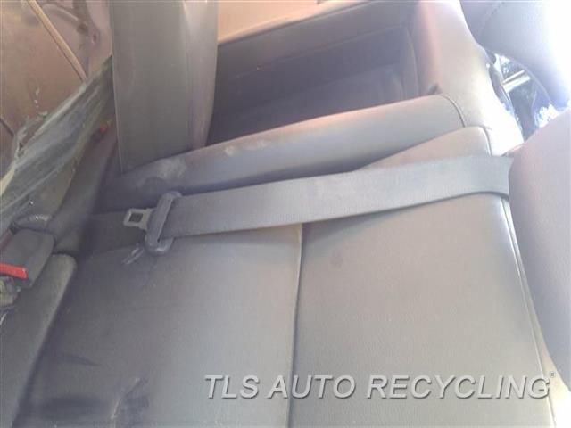 2017 Acura Ilx Seat Belt Rear  REAR CENTER BLK