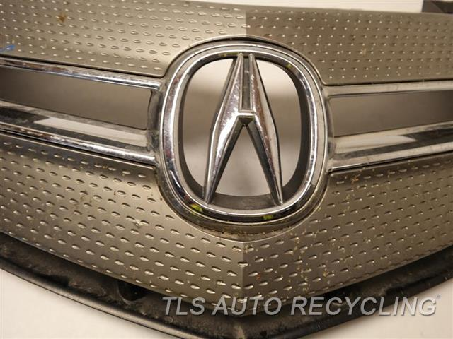 2007 Acura Mdx Grille PAINT HAS MINOR BUBBLES GRAY UPPER GRILLE