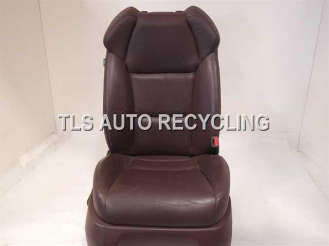 2007 acura mdx seat front show wearbrown passenger front leather seat. Black Bedroom Furniture Sets. Home Design Ideas