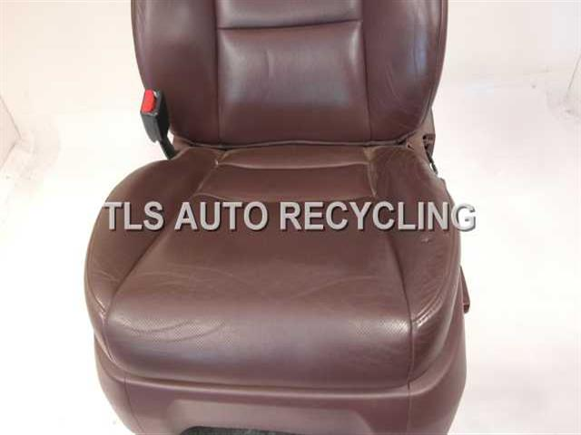 2007 acura mdx seat front show wearbrow driver front leather seat. Black Bedroom Furniture Sets. Home Design Ideas