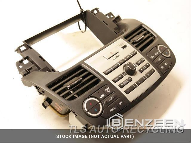 2008 Acura Rdx Radio Audio / Amp  CONTROL ASSEMBLY, BASE 25007133455A0
