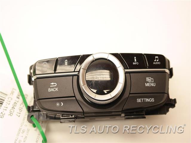 2017 Acura Rdx Dash Switch ONE DAMAGED TAB MENU SELECTION SWITCH 39050-TX4-X51