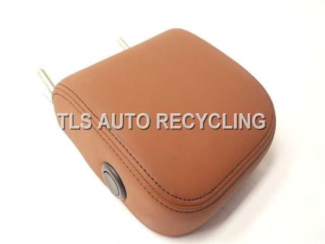 2012 Acura Tl Headrest 82140-TK5-A71ZC  LEATHER YR386L/BROWN PASSENGER REAR HEADREST