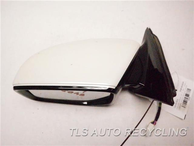 2017 Acura Tlx Side View Mirror  LH,WHT,PM,(HEATED, SIGNALS), US MAR