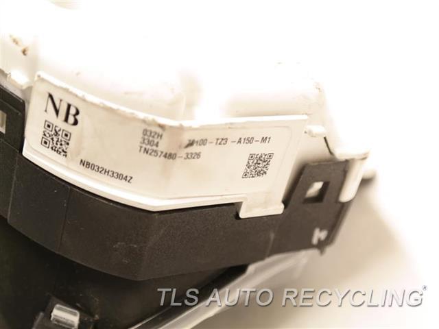 2017 Acura Tlx Speedo Head/cluster 78100TZ3A15 (MPH, US MARKET), 3.5L, FWD, TECH