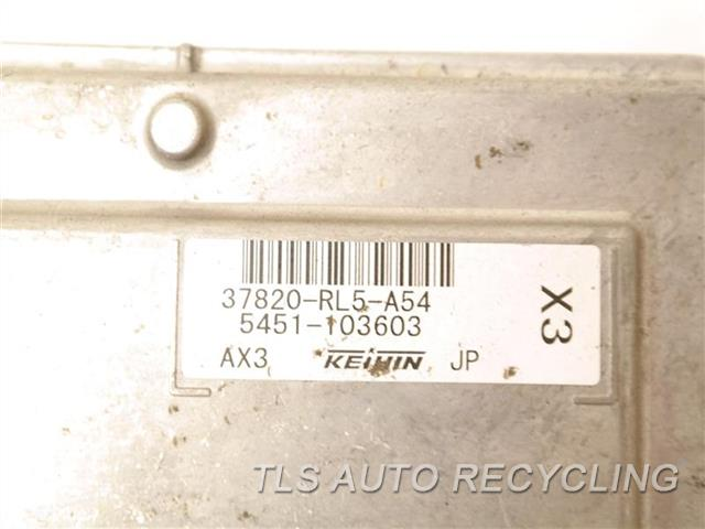 2011 Acura Tsx Eng/motor Cont Mod  37820RL5A54 ENGINE CONTROL COMPUTER