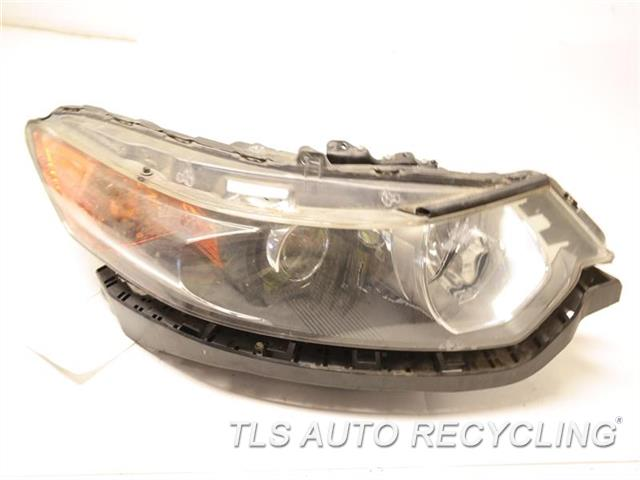 2011 Acura Tsx Headlamp Assembly clear coating peeling, need buff RH,XENON (HID), HEADLAMP