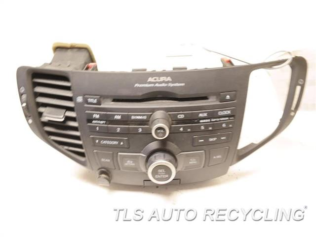 2011 Acura Tsx Radio Audio / Amp 39100-TL2-A11 RECEIVER (ASSEMBLY), (US MARKET)