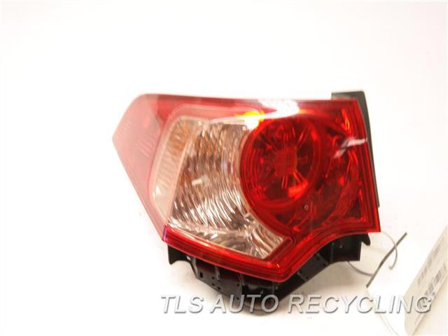 2011 Acura Tsx Tail Lamp  LH,SDN, QUARTER PANEL MOUNTED, L.