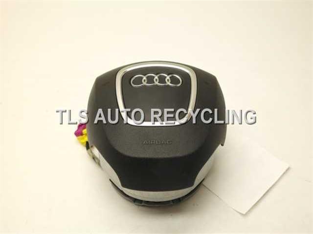 2007 Audi A4 Audi Air Bag 8E0880201BL BLACK STEERING WHEEL AIR BAG