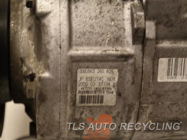 2009 Audi A4 Audi Ac Compressor  AC COMPRESSOR 2.0L