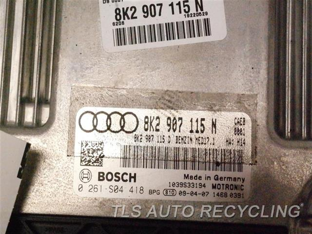 2009 Audi A4 Audi Eng/motor Cont Mod  8K2907115N ENGINE CONTROL COMPUTER