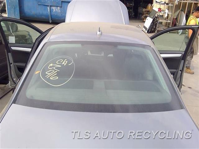 2011 Audi A4 Audi Back Glass  SDN BACK GLASS