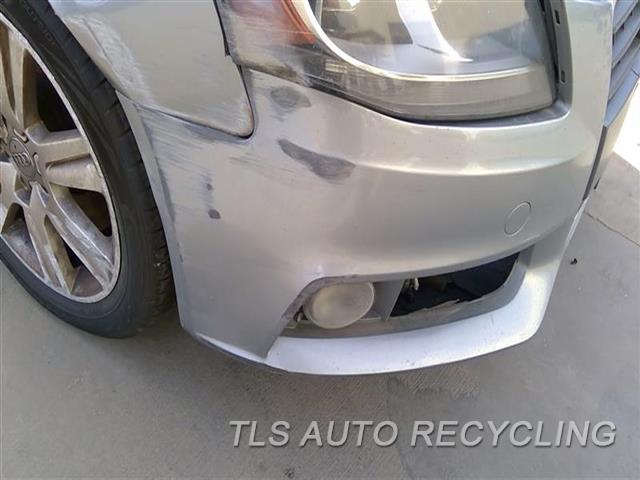 2011 Audi A4 Audi Bumper Cover Front SCUFFS ON BOTH SIDES 6S1,1S1,GRY,SDN, W/O HEADLAMP WASHE