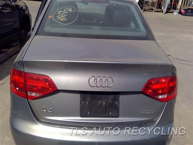 2011 Audi A4 Audi Deck Lid  000,GRY,SDN, W/O INTEGRATED SPOILER
