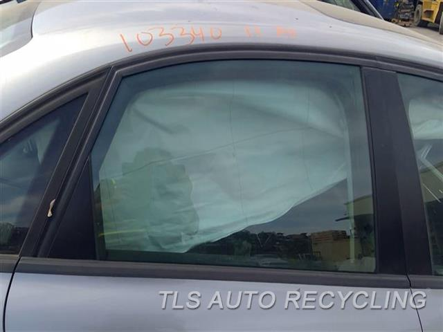 2011 Audi A4 Audi Door Glass, Rear  RH,SDN, R.