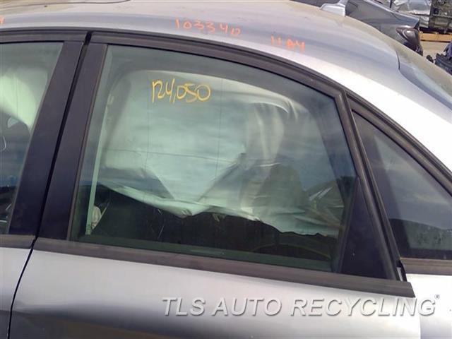 2011 Audi A4 Audi Door Glass, Rear  LH,SDN, L.