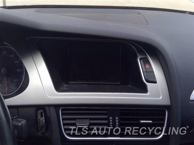 2011 Audi A4 Audi Navigation Gps Screen  2.0L,(DISPLAY), CONCERT AUDIO SYSTE