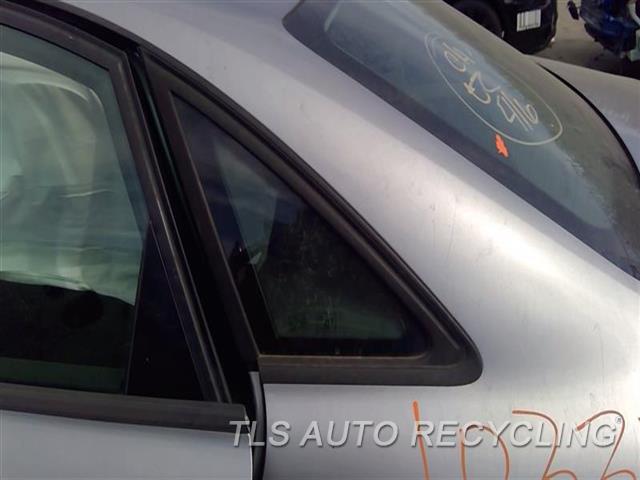 2011 Audi A4 Audi Quarter Glass  LH,SDN, BLACK MOULDING, L.