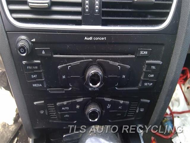 2011 Audi A4 Audi Radio Audio / Amp  RECEIVER, CONCERT AUDIO SYSTEM (OPT