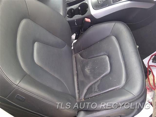 2011 Audi A4 Audi Seat, Front  RH,BLK,LEA,SDN, (AIR BAG), (LEATHER