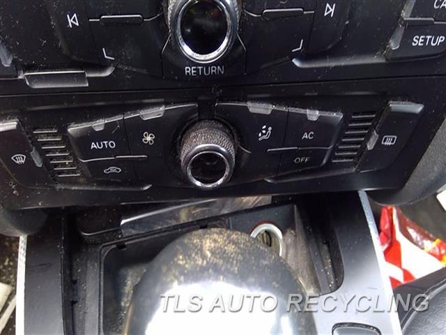 2011 Audi A4 Audi Temp Control Unit  BLK,SDN, SINGLE ZONE, W/O HEATED SE